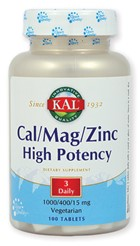 Cal/Mag/Zinc High Potency