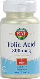 FOLIC ACID 800 mcg +B12